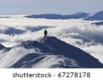 climber on the mountain in... | Shutterstock . vector #67278178