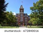 columbus  oh   june 25 ... | Shutterstock . vector #672840016