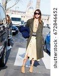paris march 6  2015. ece sukan... | Shutterstock . vector #672846652