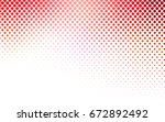 light red vector modern... | Shutterstock .eps vector #672892492