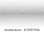 dark gray vector modern... | Shutterstock .eps vector #672907546