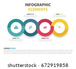 modern vector abstract step... | Shutterstock .eps vector #672919858
