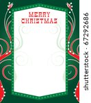 Raster version Illustration of abstract party like background. There is room for text and/or logo in center. Christmas Lights Template2 - stock photo