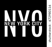 new york city. ny t shirt print ... | Shutterstock .eps vector #672980116