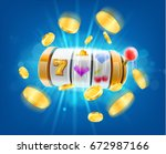 slot machine | Shutterstock .eps vector #672987166