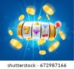 slot machine | Shutterstock .eps vector #672987166