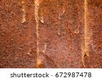 old rusty metal surface... | Shutterstock . vector #672987478