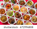 small dish chinese food | Shutterstock . vector #672996808