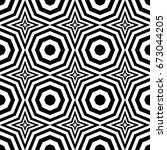 seamless pattern with black... | Shutterstock .eps vector #673044205