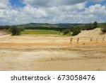 outdoor shooting range  idf...   Shutterstock . vector #673058476