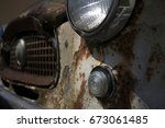 Rusted Out Nash Metropolitan