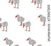 vector flat background with... | Shutterstock .eps vector #673067305