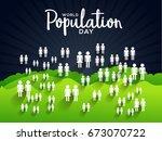 illustration poster or banner... | Shutterstock .eps vector #673070722