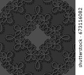 elegant seamless lace pattern....