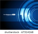abstract retro technology... | Shutterstock .eps vector #67314268