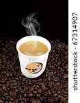 coffee cup | Shutterstock . vector #67314907