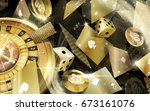 casino games | Shutterstock . vector #673161076