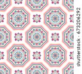 seamless pattern background.... | Shutterstock .eps vector #673206292