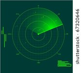 radar localization  eps10 | Shutterstock .eps vector #67320646