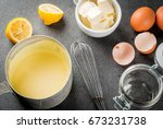 traditional basic sauces.... | Shutterstock . vector #673231738