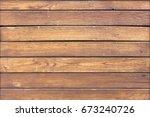 wood texture  horizontal wooden ... | Shutterstock . vector #673240726