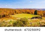 Scenic Rural West Virginia In...