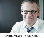 portrait of caucasian mature... | Shutterstock . vector #67325482