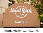 madrid  spain   july 5  hard... | Shutterstock . vector #673267276