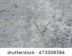 vintage old patchy concrete...   Shutterstock . vector #673308586