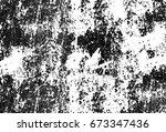 grunge texture black and white. ... | Shutterstock . vector #673347436