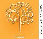 creative illustration tree | Shutterstock .eps vector #67336429