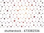 dark red  yellow vector of... | Shutterstock .eps vector #673382536