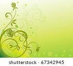 abstract flower illustration...