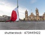 mexico  mexico city  8 february ... | Shutterstock . vector #673445422