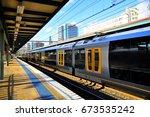 central station in sydney | Shutterstock . vector #673535242
