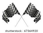 crossed flags  10eps | Shutterstock .eps vector #67364920