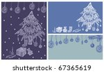 christmas background  new year... | Shutterstock .eps vector #67365619