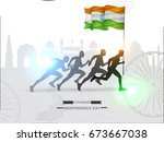 vector illustration on... | Shutterstock .eps vector #673667038