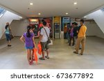 Small photo of Kota Kinabalu,Sabah,Malaysia-June 17,2017:People using the ATM (Automatic Teller Machine) to withdraw & transfer money in Suria KK Shopping Complex at Kota Kinabalu,Sabah,Malaysia.