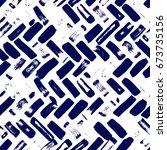 abstract artistic herringbone ... | Shutterstock . vector #673735156