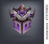 iron fantasy armor helmet for...