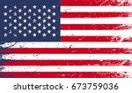 usa flag | Shutterstock .eps vector #673759036