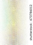 light green  yellow pattern of... | Shutterstock . vector #673786012