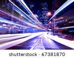 modern city at night   Shutterstock . vector #67381870