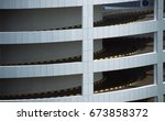 interesting architectural form... | Shutterstock . vector #673858372