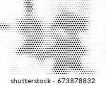 abstract halftone dotted... | Shutterstock .eps vector #673878832