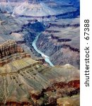 colorado river at the bottom of ... | Shutterstock . vector #67388