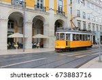 lisbon  portugal   june 7  2017 ... | Shutterstock . vector #673883716