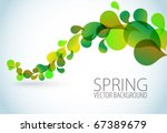 spring abstract floral... | Shutterstock .eps vector #67389679