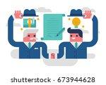 partnership | Shutterstock .eps vector #673944628
